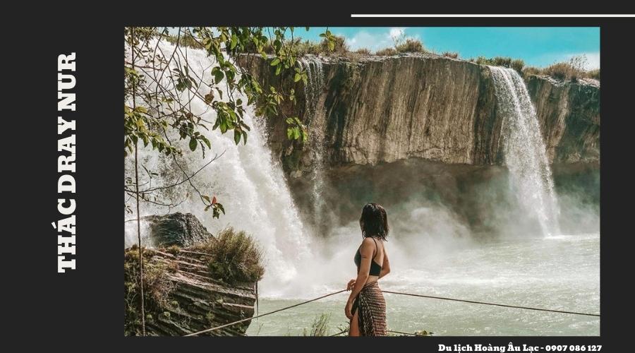 du lịch thác  Dray Nur
